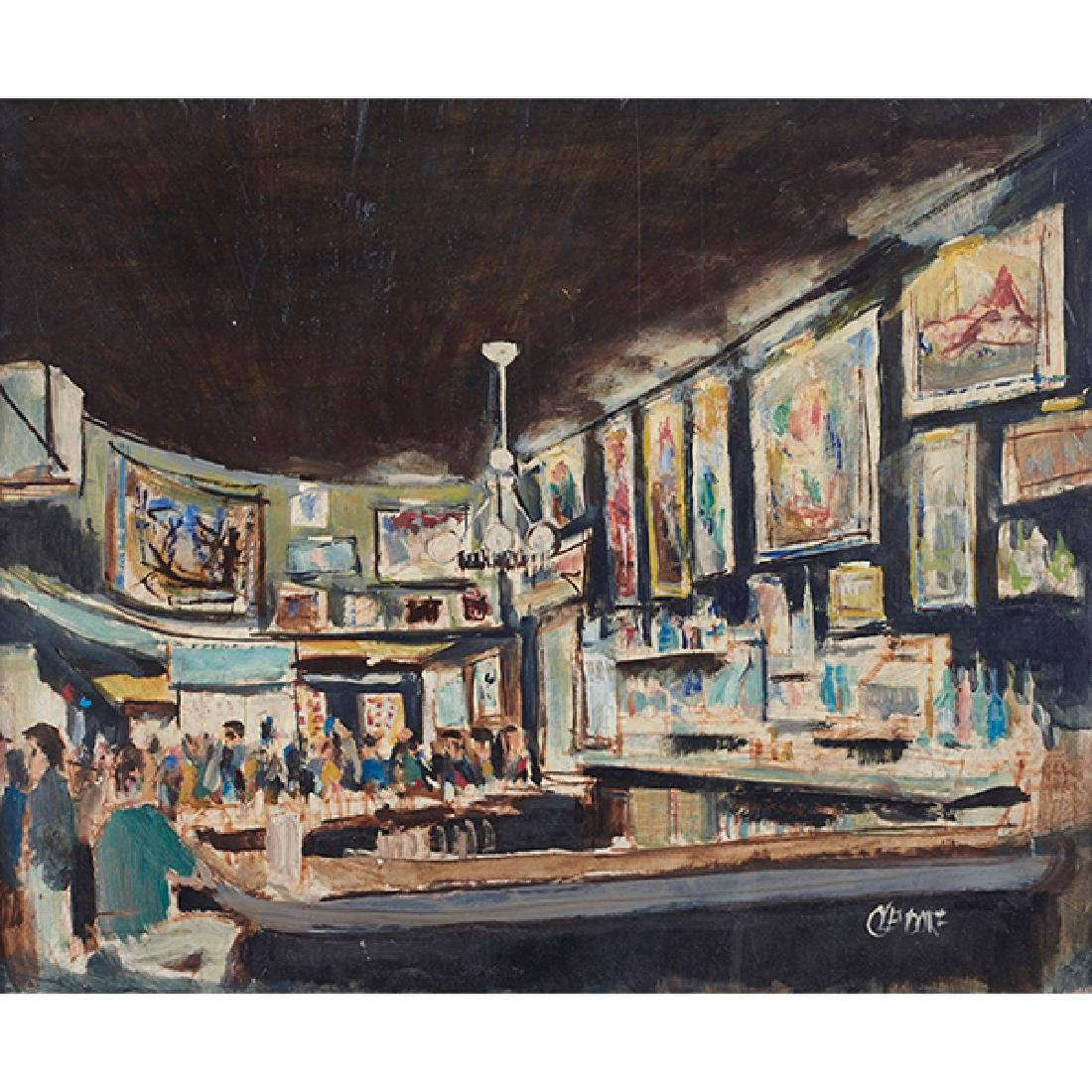 Bill Olendorf, (American, 1924-1996), Butch McGuire's,