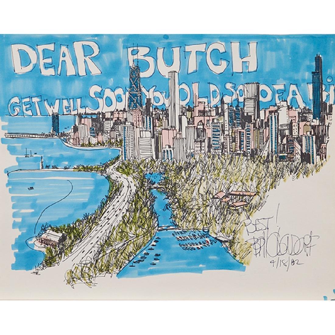 Bill Olendorf, (American, 1924-1996), Dear Butch Get