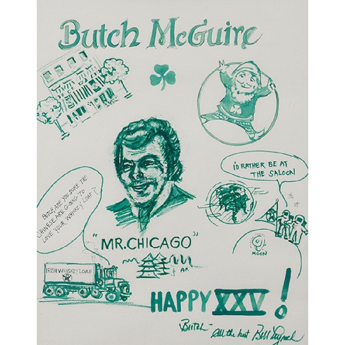 Bill Lynch, (American, 20th century), Butch McGuire's