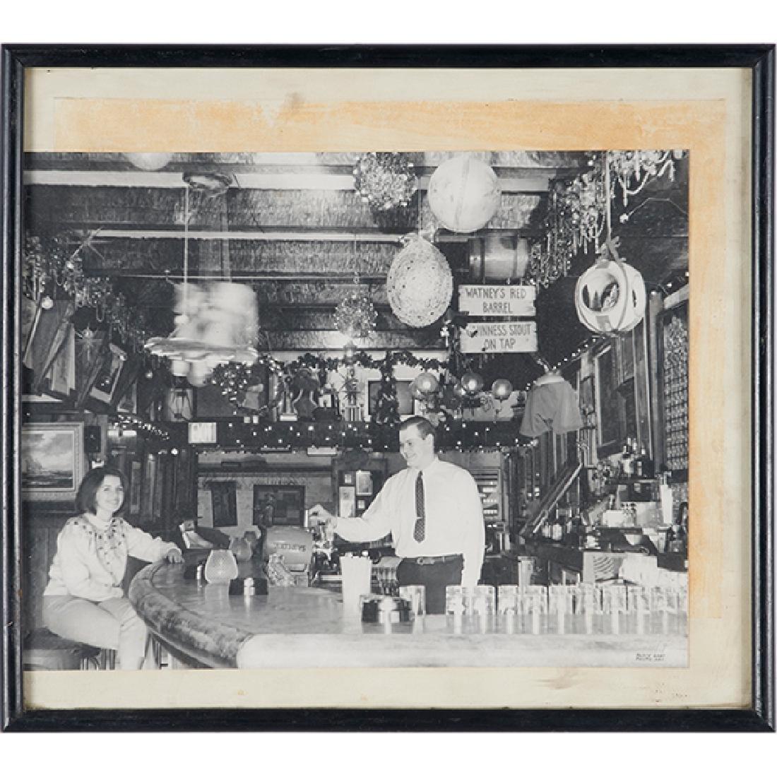 Vintage Photography, Butch McGuire's framed interior