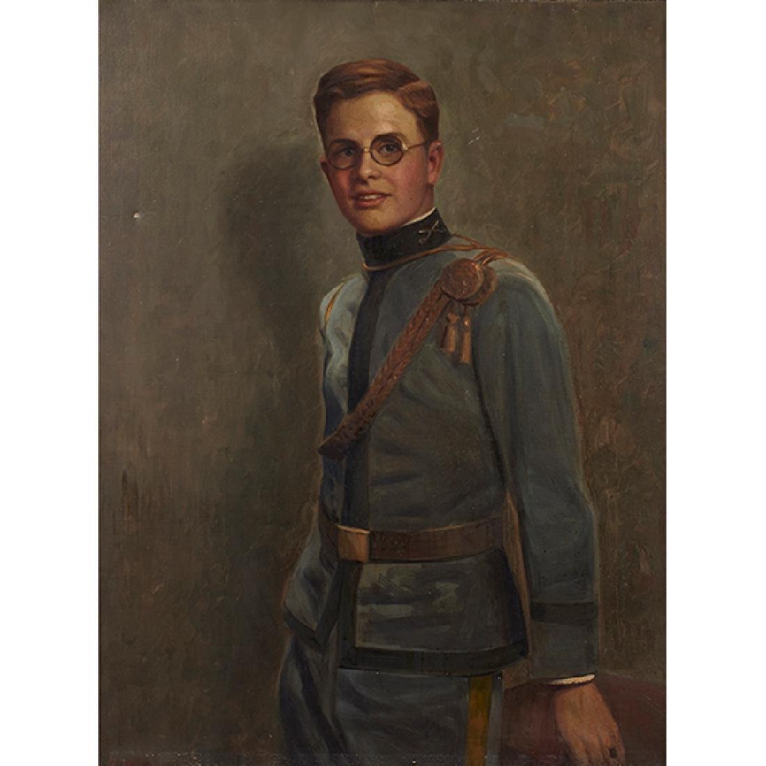 H. Wolkin, Portrait of Mayor Kelly's Son, oil on