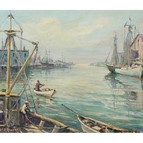 William A. Couper, (Italian/American, 1891-1972), Ships