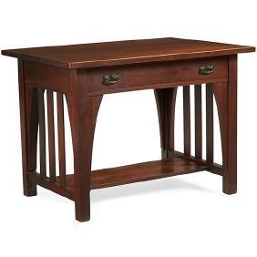 Limbert, library table, #163, Grand Rapids, MI, oak,