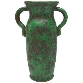The Weller Pottery Company, two-handled vase,