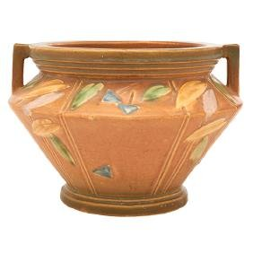 Roseville Pottery Co., Futura two-handled vase,