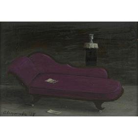 Gertrude Abercrombie, (American, 1909-1977), Chaise