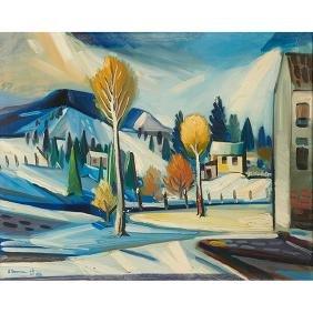 Karl Herman Baumann, (American, 1911-1984), Breath of