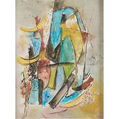 Jaled Muyaes Chilean 19212007 Abstract 1950s