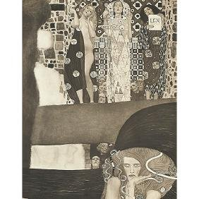 Gustav Klimt, (Austrian, 1862-1918), A group of 15