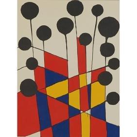 Alexander Calder, (American, 1898-1976), Untitled