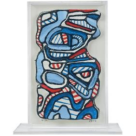 Jean Dubuffet, (French, 1901-1985), Personnage
