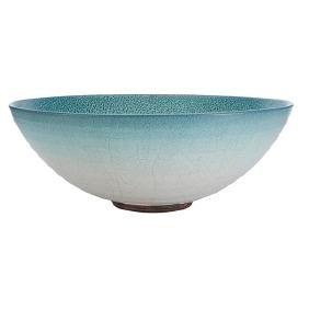 Glen Lukens (1887-1967) large broad bowl, Los Angeles