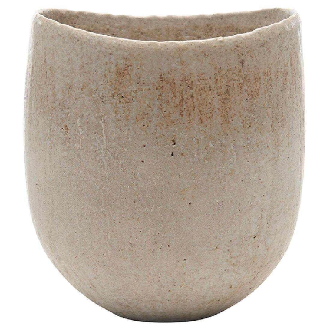 John Ward (b. 1938), vase, Wales, UK, matte glazed