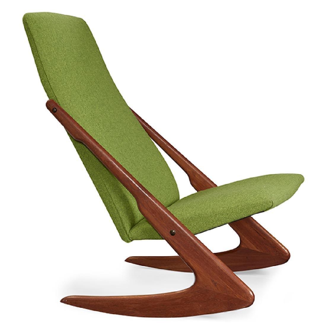 Kold Mobelfabrik Boomerang rocking lounge chair