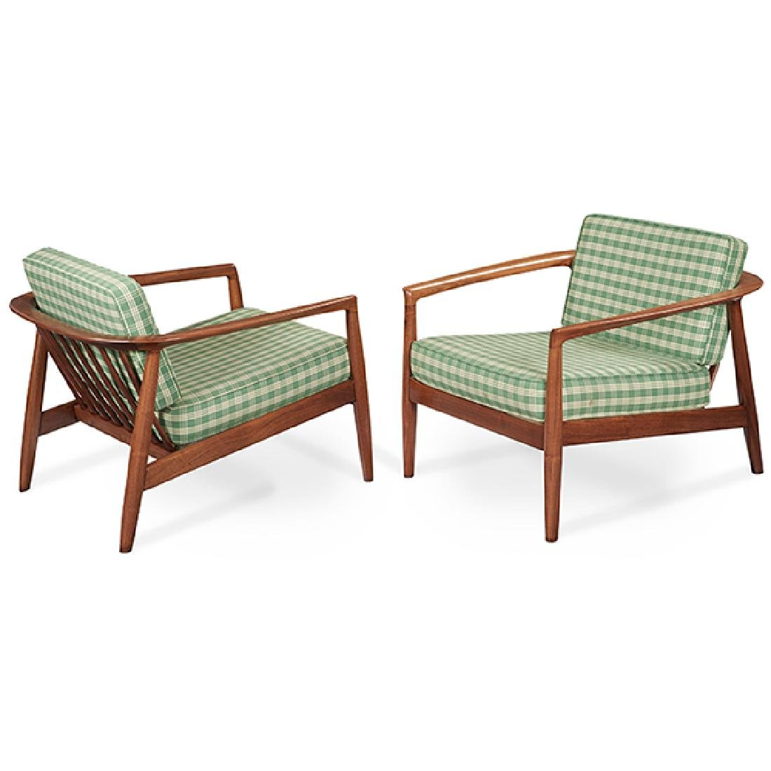Folke Ohlsson (1919-2003) for Dux, lounge chairs, pair,