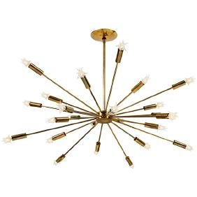 Gino Sarfatti (1912-1985) Lightolier Sputnik chandelier
