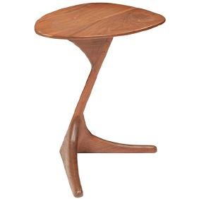 American Studio, Occasional Table, Usa, Walnut,