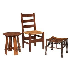 Gustav Stickley, side chair, #306 1/2, Eastwood, NY,