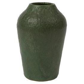 Hampshire Pottery, vase, Keene, NH, matte green glazed