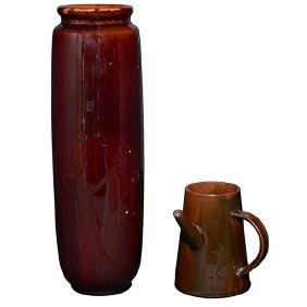 Albert R. Valentien (1862-1925) for Rookwood Pottery,