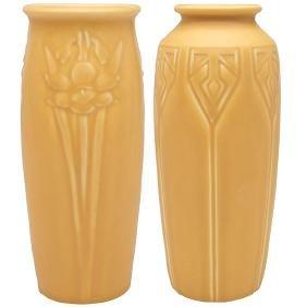 Rookwood Pottery, vase, #2476, Cincinnati, OH, 1931,