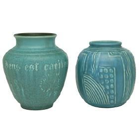 Rookwood Pottery, vase, #5232, Cincinnati, OH, 1931,