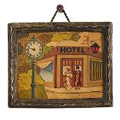 Concealed Erotic, Hotel 69 automated picture clock,