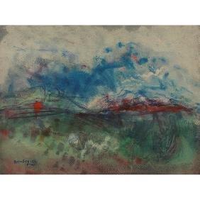 Rosenberg, (American, 1913-1992), Untitled, 1971,
