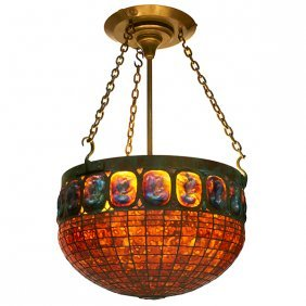 Sybaritic Studio, In the Style of Tiffany Studios chand