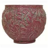 306: Weller Marvo jardinière, large form w/AET Co. tile