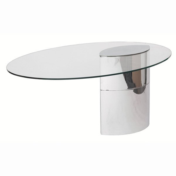"971: Cini Boeri ""Lunario"" desk/dining table, by Gavina"