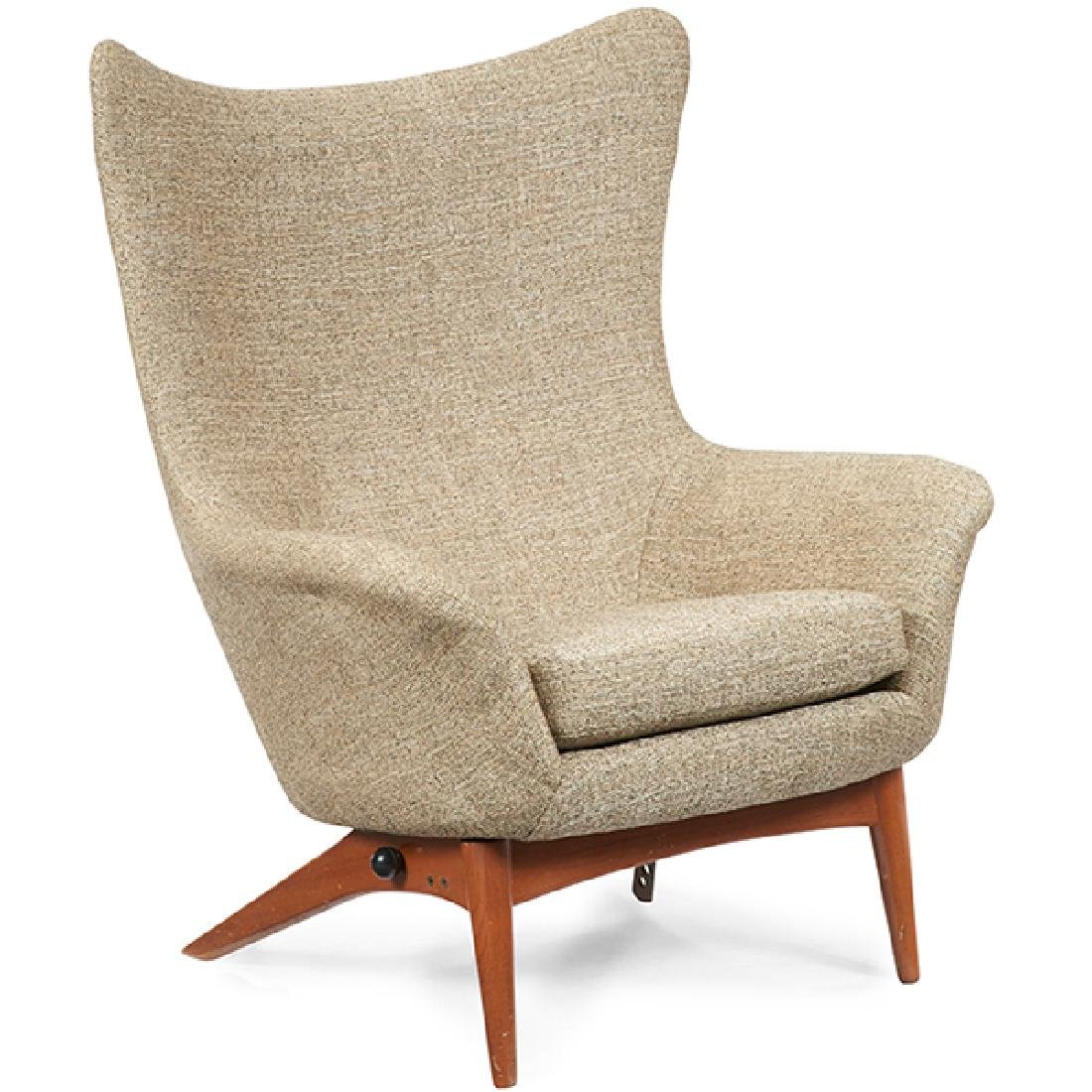 H.W. Klein for Bramin Mobler reclining lounge chair