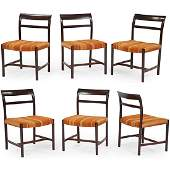 Edward Wormley for Dunbar dining chairs, set of 6