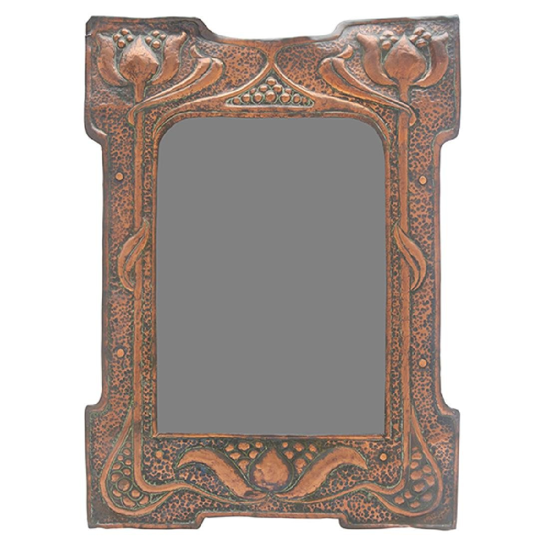 """English Arts & Crafts picture frame 10.5""""w x 14""""h"""