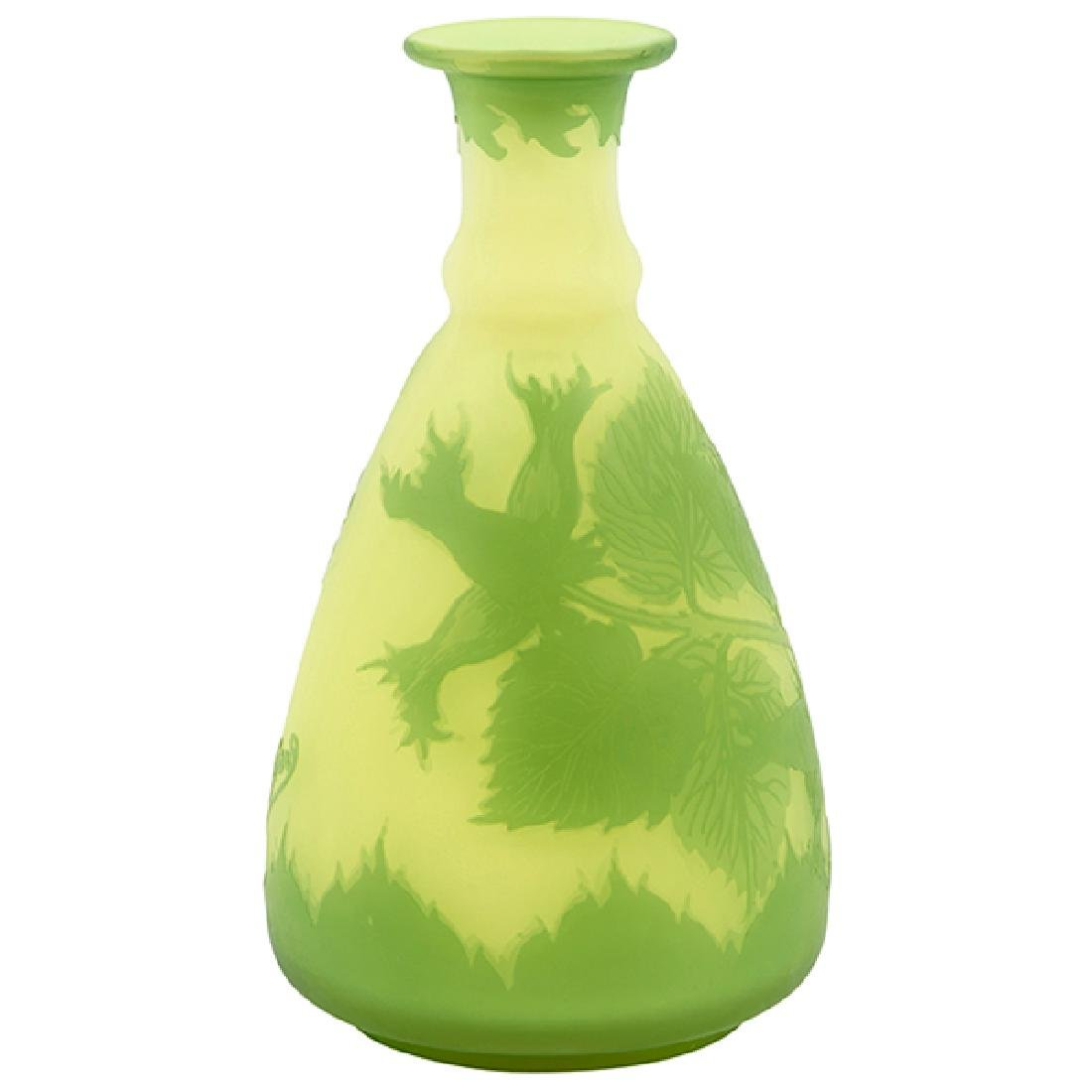 "Richard, manufactured by Loetz Floral vase 3.5""dia x"