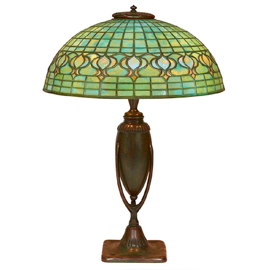 Tiffany Studios Pomegranate table lamp: shade, #1457 on