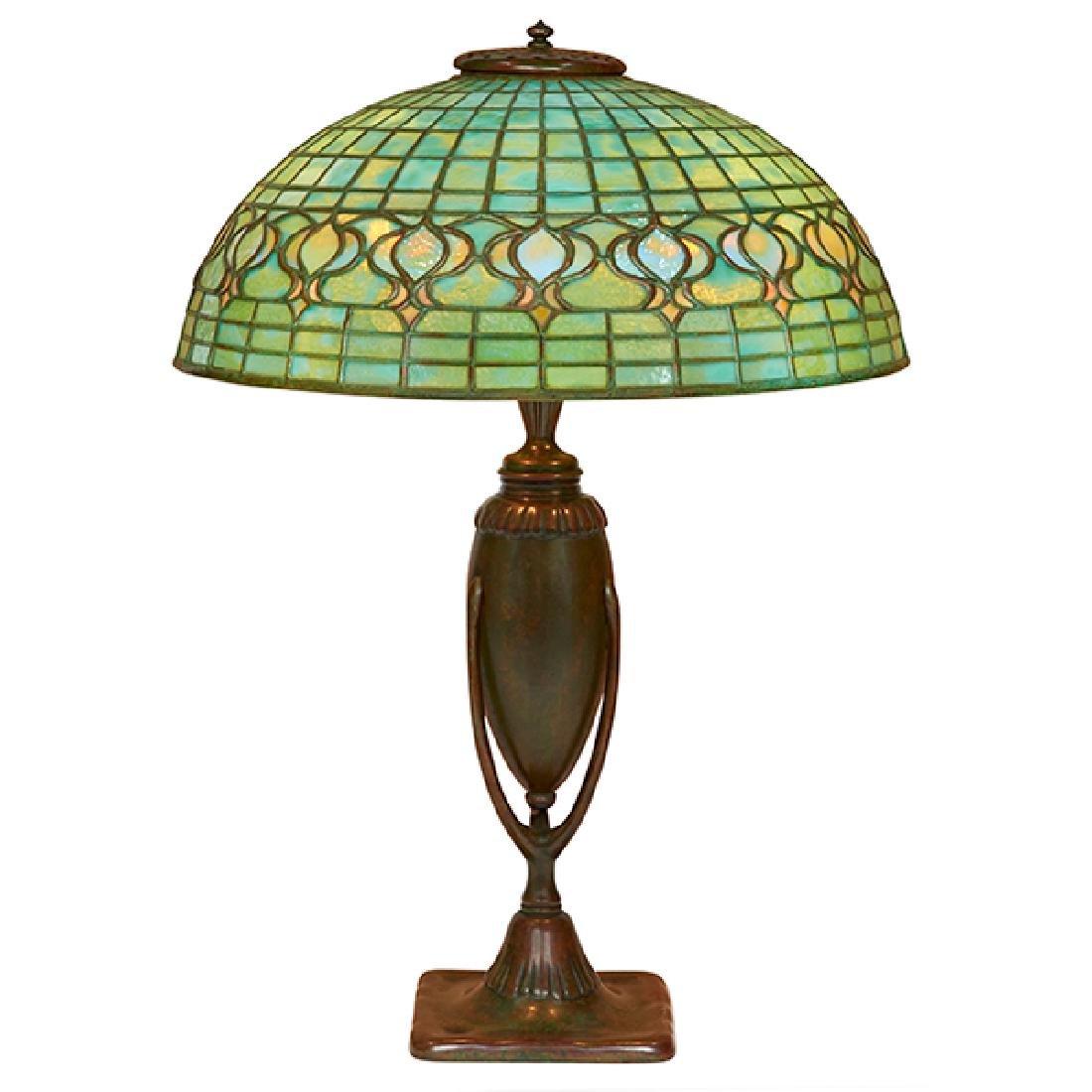 Tiffany Studios Pomegranate table lamp: shade, #1457 on