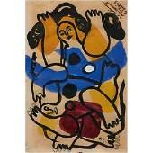 Fernand Leger, (French, 1881-1955), Les Plongeurs,