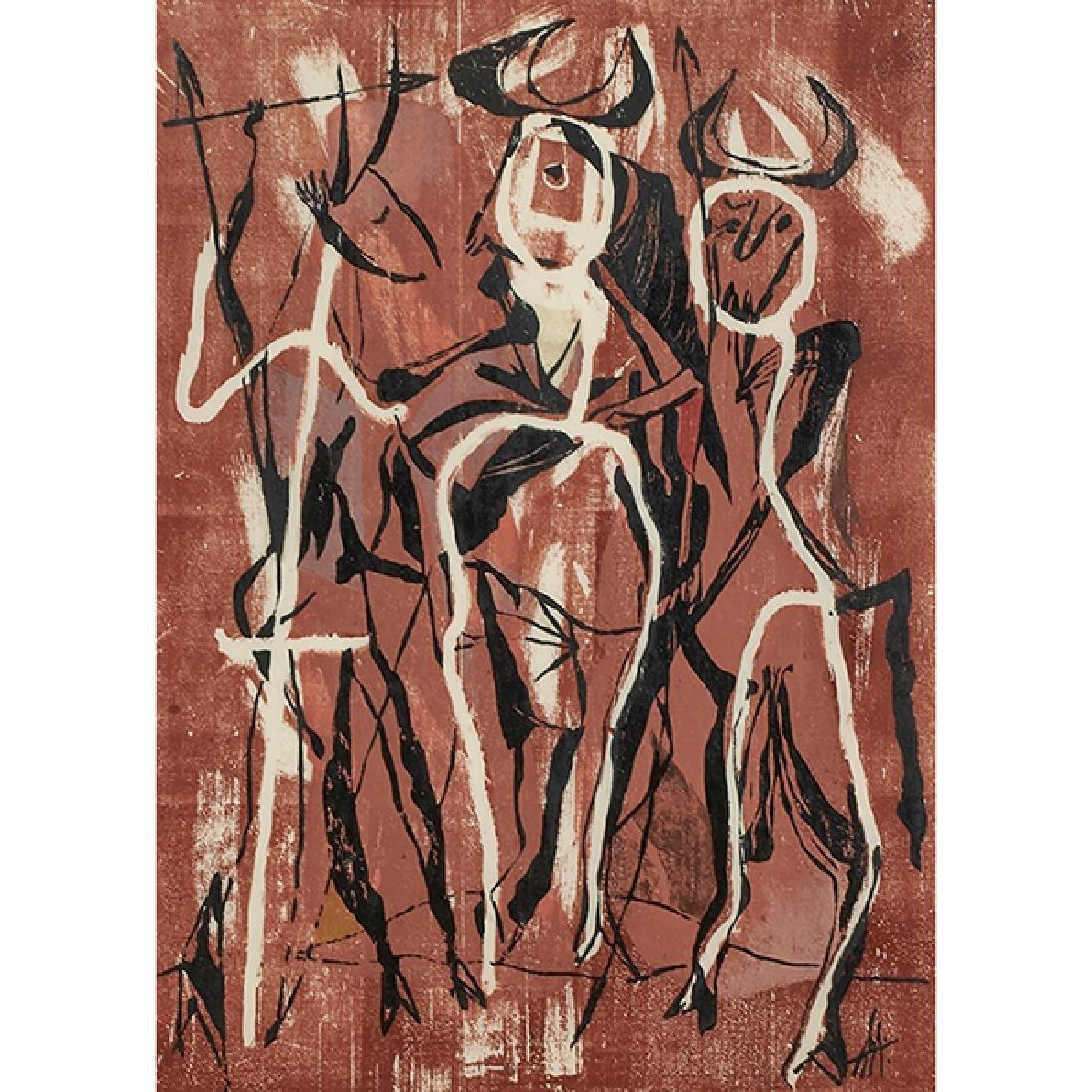 Adja Yunkers, (American/Latvian, 1900-1983), The