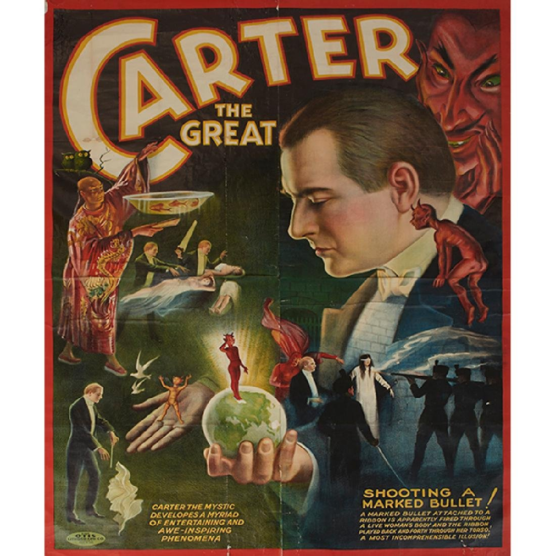 Otis Lithograph , (20th century), Carter the Great,