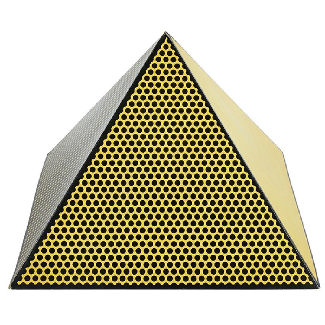 Roy Lichtenstein, (American, 1923-1997), Pyramid, 1968,
