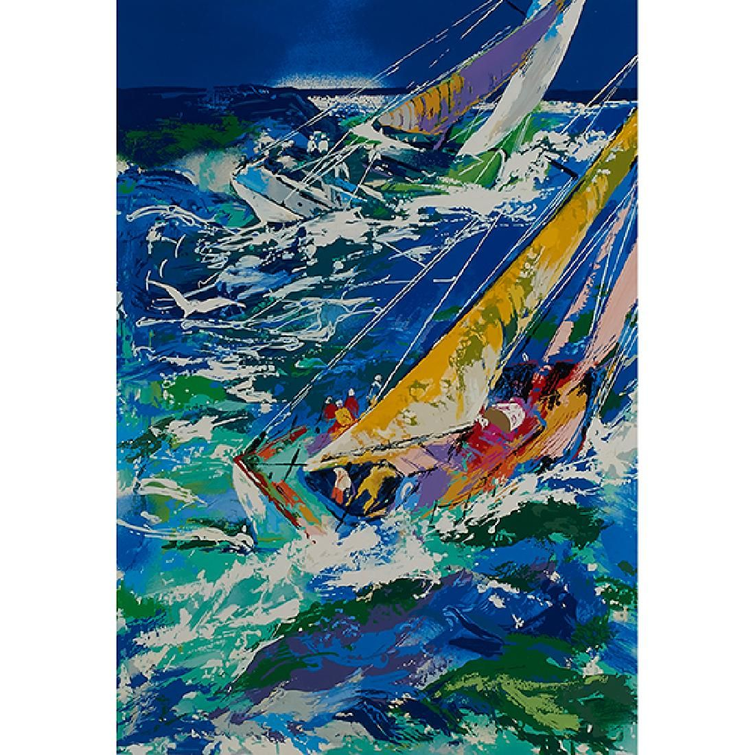 LeRoy Neiman, (American, 1921-2012), High Seas Sailing,