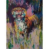 LeRoy Neiman American 19212012 Bengal Tiger