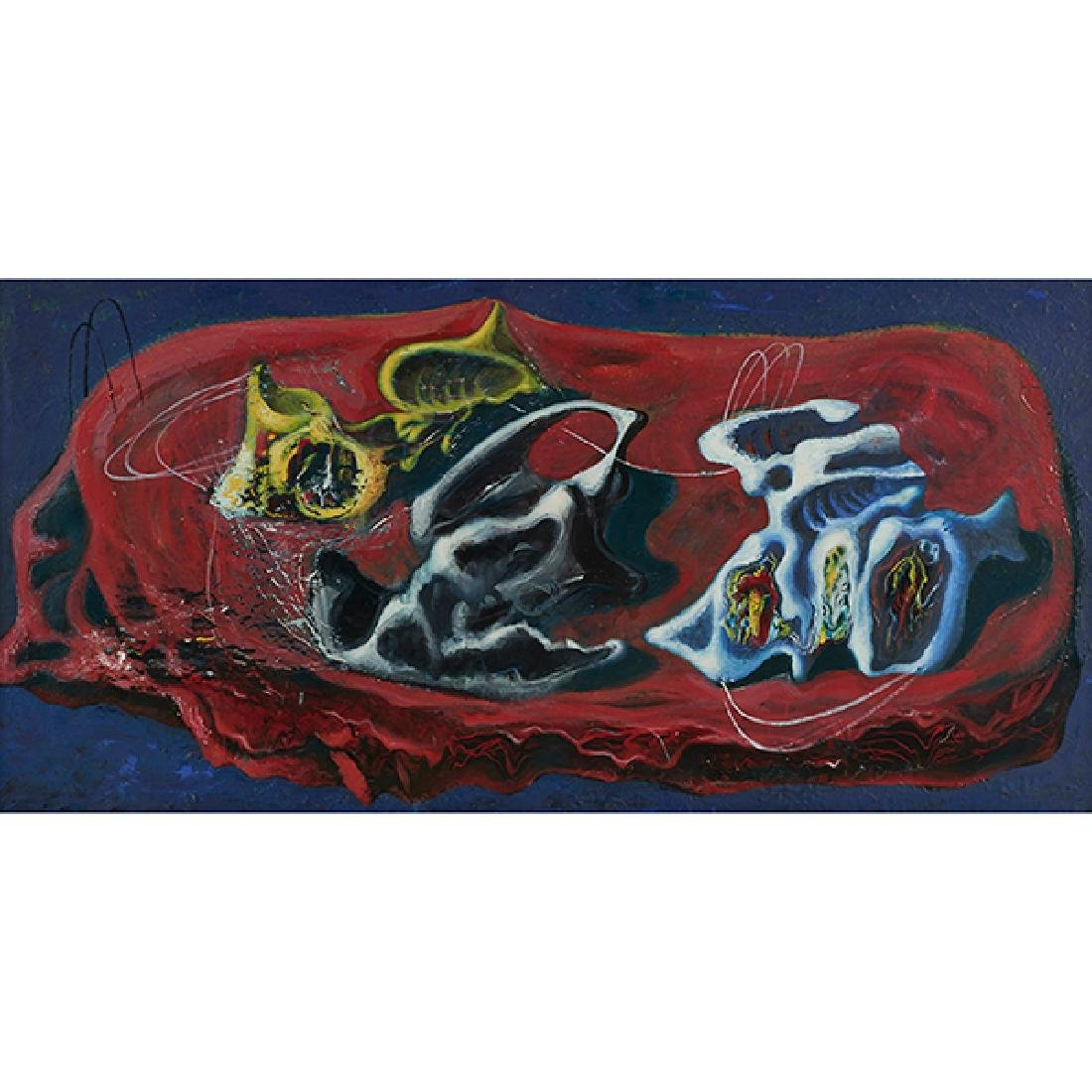 Ezio Martinelli, (American, 1895-1987), Untitled, oil