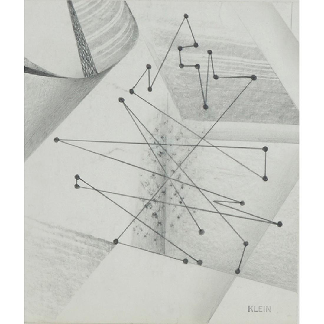 Medard Klein, (American, 1905-2002), Untitled, graphite