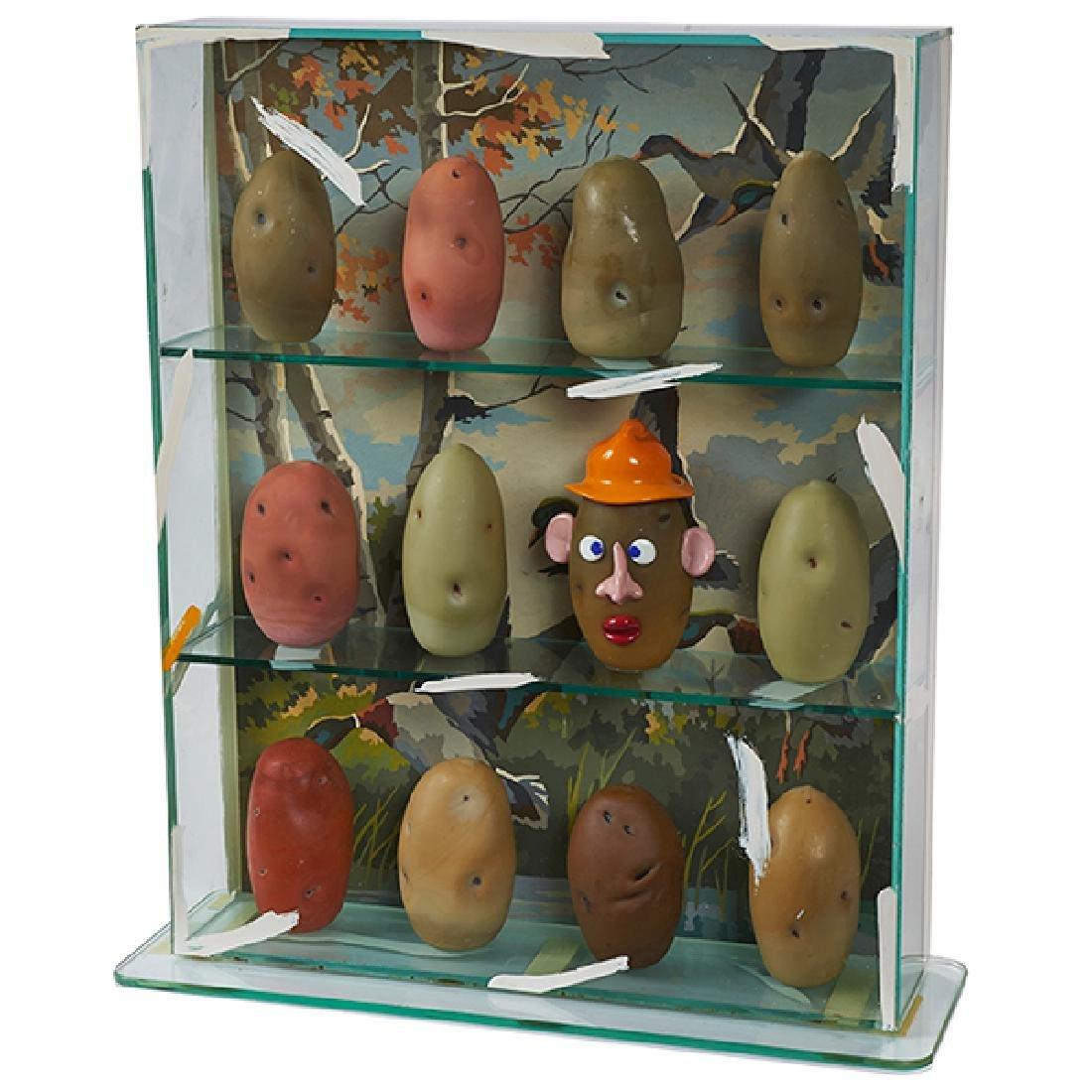 Richard Marquis, (American, b. 1945), Potato Head Box