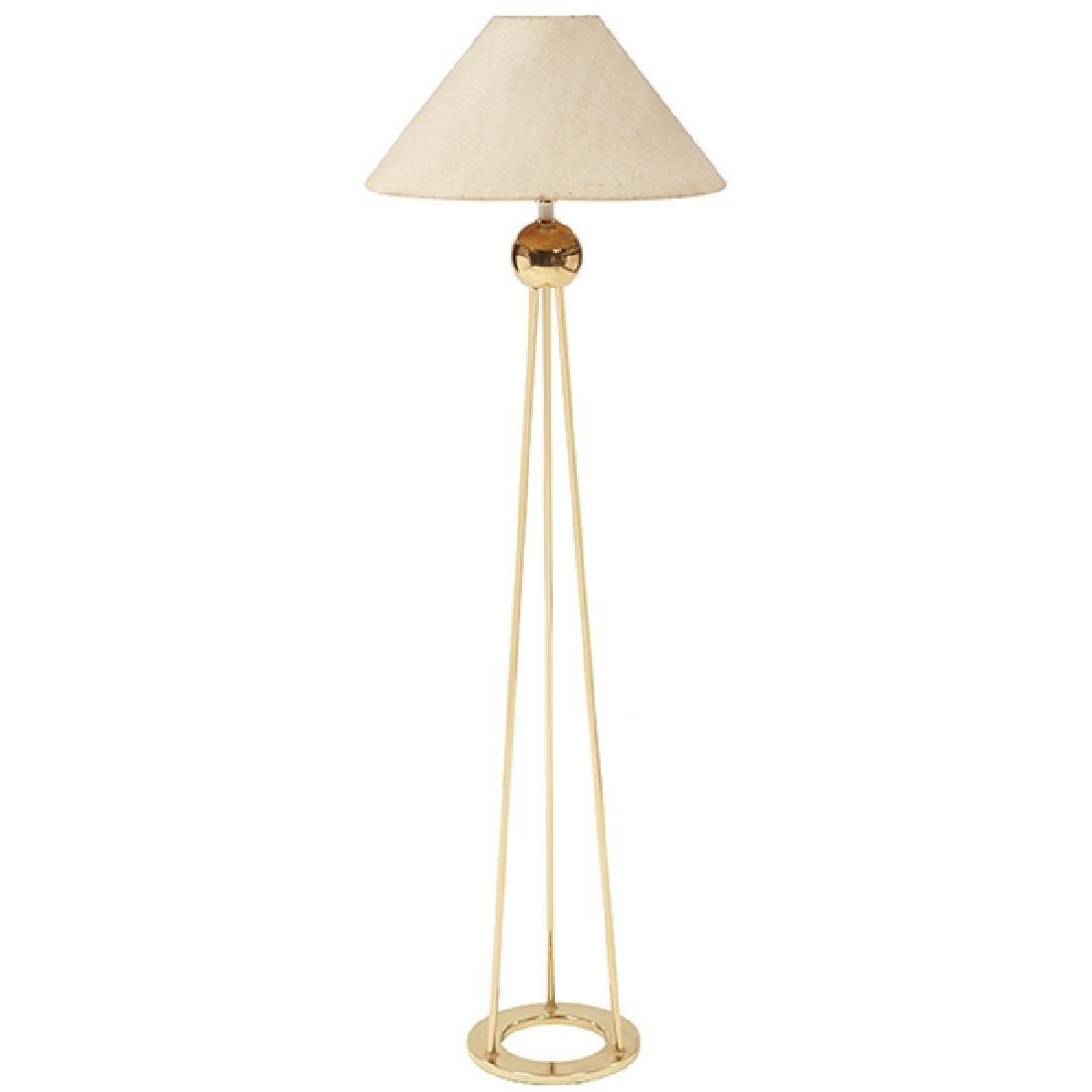 """Nessen Lighting, Inc. floor lamp 10""""dia x 58""""h"""