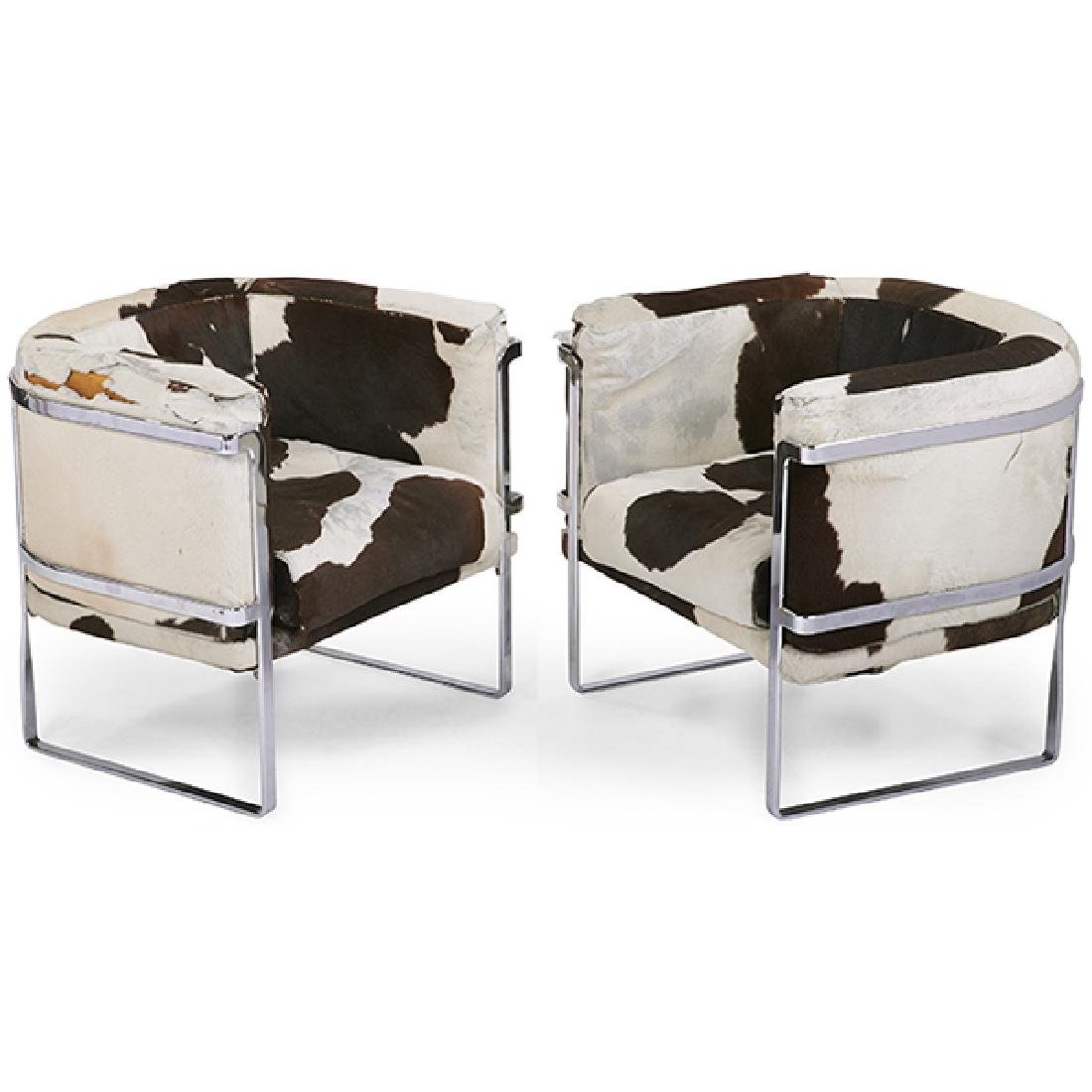 Claudio Salocchi (1934-2012) for Sormani lounge chairs,