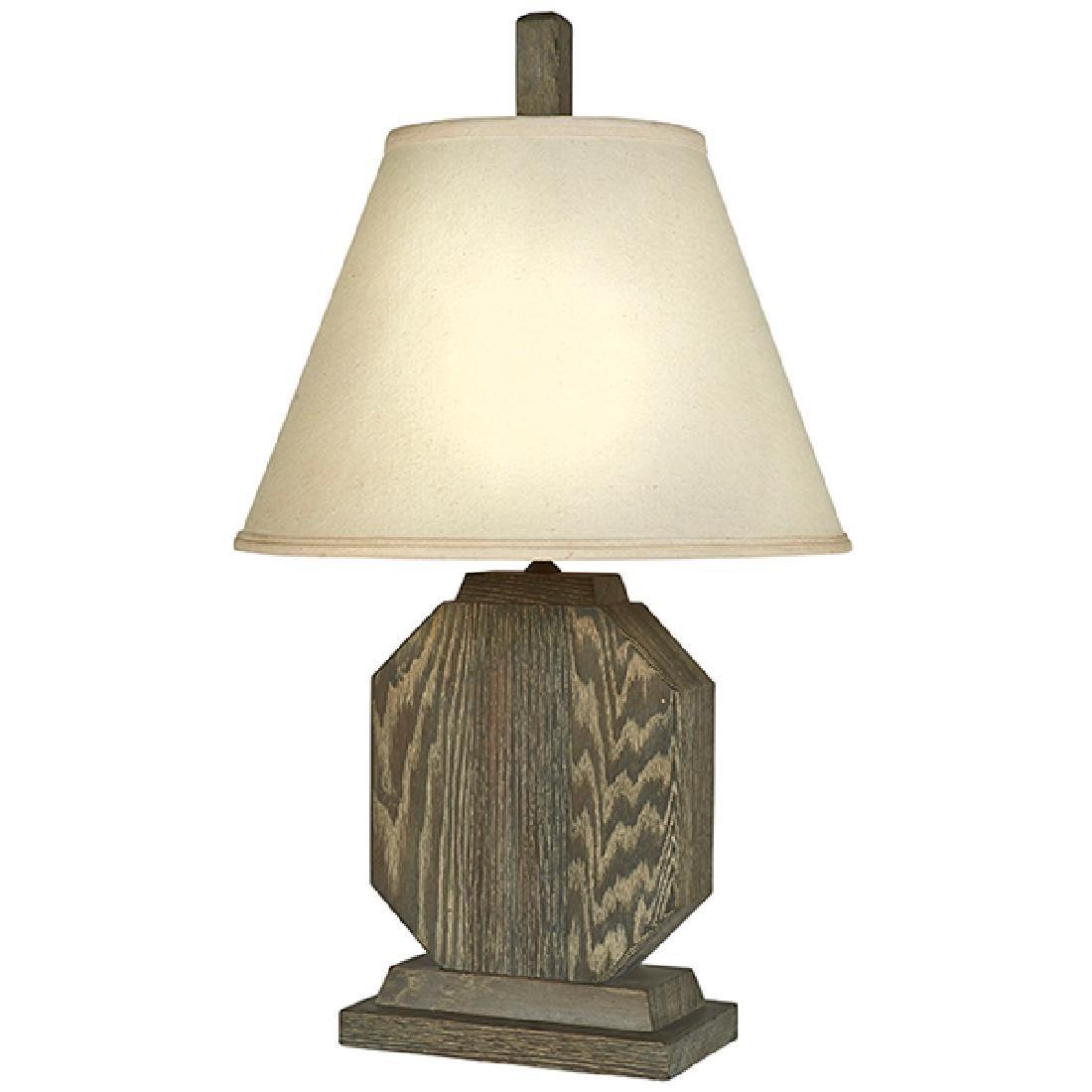 """French Art Deco table lamp 10.5""""w x 6""""d x 14""""h; 30.5"""""""