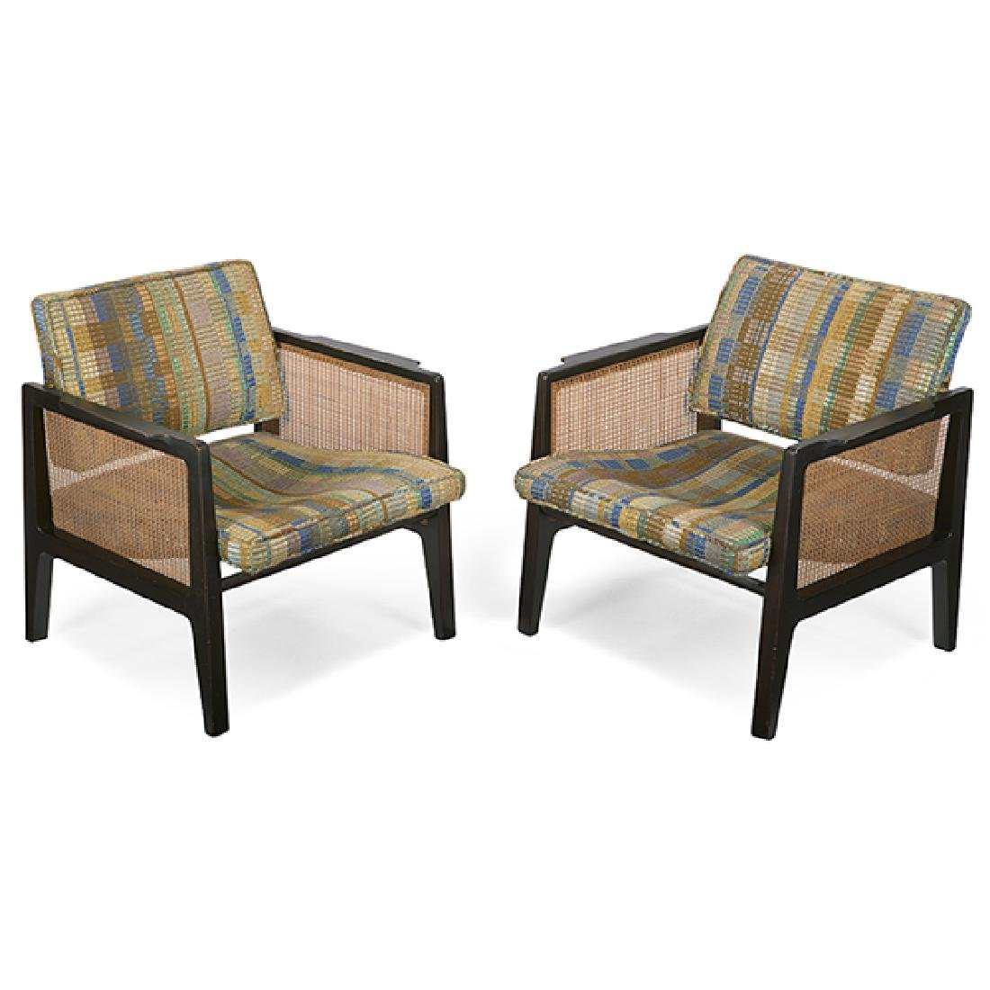 Edward Wormley (1907-1995) for Dunbar Pivot Back Chair,